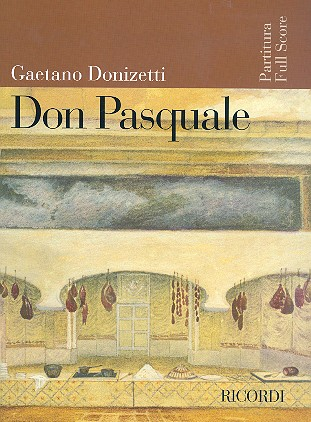 Don Pasquale - Partitur (it)