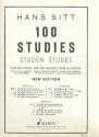 100 Studies op.32 vol.3 20 Studies for the violine (changing of position) 044