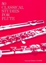 50 classical studies - for flute