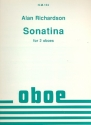 Sonatina - for 2 oboes score