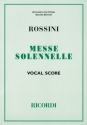 Petite messe solennelle - for solo voices, chorus and orchestra vocal score (la)