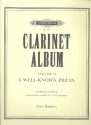 Clarinet Album vol.2 for clarinet and piano (or 2 clarinets) 6 well known pieces