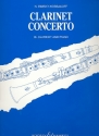 Concerto for Clarinet and Orchestra for clarinet and piano