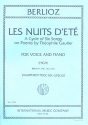 Les nuits d'été - A cycle of 6 songs for high voice and piano (en/fr)