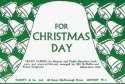 FOR CHRISTMAS DAY - FOR SA RECORD- ERS AND PIANO MCMULLEN, ELLI, ED  SCORE+2PARTS