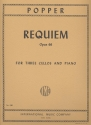 Requiem op.66 - for 3 violoncellos and piano