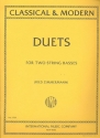 24 classical and modern Duets - for 2 string basses