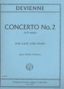 Concerto D major no.2 for flute and piano