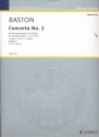 Concerto no. 2 c major for soprano recorder and strings score