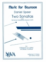 2 Sonatas for 3 bassoons (celli) and bc score+3parts