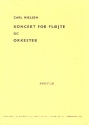 Concerto - for flute and orchestra study score