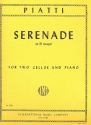 Serenade D major for 2 violoncellos and piano