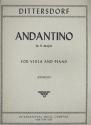 Andantino A major - for viola and piano