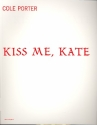 Kiss me Kate Musical vocal score (en)