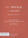 Concerto in f Major op.8,6 for 2 alto recorders and bc Partitu und 5Stimmen