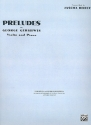 Preludes - for violin and piano