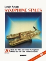 Saxophone Styles (+MC) 20 Duets for 2 saxophones (A/T)