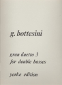Gran duetto no.3 - for 2 double basses score