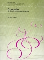 Concerto for timpani and percussion ensemble (5 players) score and parts