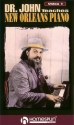 DR. JOHN TEACHES NEW ORLEANS PIANO - VIDEO 1
