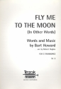Fly me to the Moon - for 5 (4) trombones and tuba score and parts