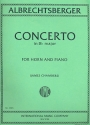 Concerto B flat major for horn and piano