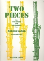 2 Pieces for 2 oboes and cor anglais score and parts