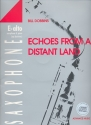 Echoes from a distant Land - for alto saxophone and piano