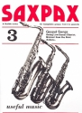 Saxpax no.3 - Gospel Songs for 3 saxophones and piano