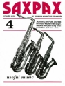 Saxpax no.4 - 3 saxophones/piano American folk songs