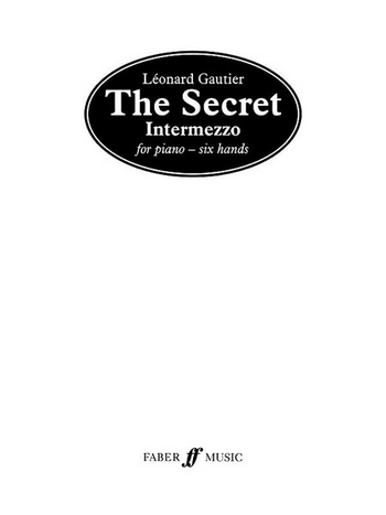 The Secret - Intermezzo for piano 6 hands Spielpartitur