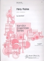 Flirty Flutes - for flute quartet with piano parts
