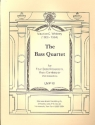 The Bass Quartet - for bass recorders (bass gambas or cellos) score and parts