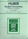 Student Concertino G major no.2 op.6 - for violin and piano