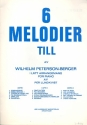 6 melodier vol.3 - for piano