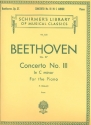Concerto in c Minor no.3 op.37 for piano and orchestra for 2 pianos