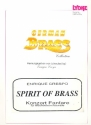 Spirit of Brass Concert intrada for 10 brass players score and parts