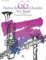 66 festive and famous Chorales for band - clarinet 1