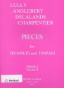 Pieces vol.1 for trumpets and timpani score and parts