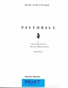 Pastorale for flute, clarinet, bassoon and piano parts