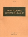 Concerto - for clarinet and string orchestra with harp and piano study score