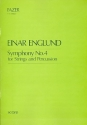 Symphony no.4 for strings and percussion, score
