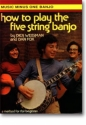 MUSIC MINUS ONE BANJO HOW TO PLAY THE FIVE STRING BANJO BOOK+CD