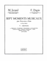 GRANADA POUR PERCUSSION ET PIANO 7 MOMENTS MUSICAUX NO.5 DUPIN, FR., KOAUTOR