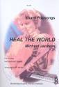 Heal the World - for 3 flutes and keyboard or piano parts