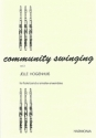 Community swinging vol.2 for 5 (6) flutes, piano and rhythm group ad lib.