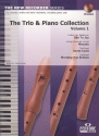 The Trio and Piano Collection vol.1 (+CD) for 3 recorders (sat) and piano,  score and parts