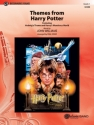Themes from Harry Potter for concert band score and parts