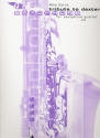 Tribute to dexter - for 4 saxophone (satb) score and parts