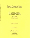 Canzona - for 3 tubas or large ensemble score and parts